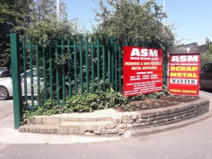 ASM Metal Recycling at Kings Langley by Aaron Campbell