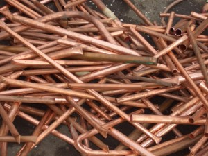 Heavy copper piping