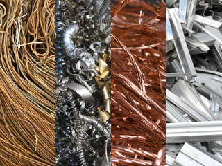 Assorted scrap metal